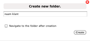 CrushFTP create folder